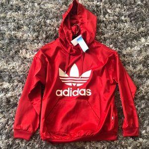 Adidas Trefoil Hoodie  Winter Sweatshirt Small